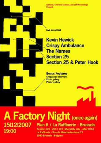 A Factory Night (Once Again) [LTMDVD 2519]