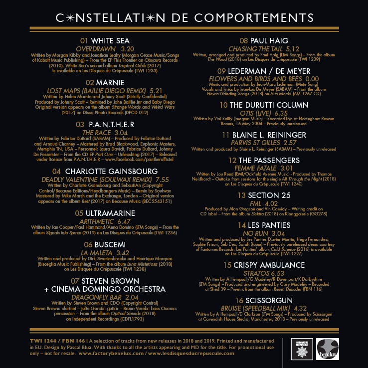 Constellation de Comportements [FBN 146 / TWI 1244]